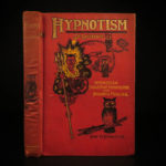1900 Hypnotism DeLaurence Clairvoyant Hindoo Sleep Disease Occult Illustrated