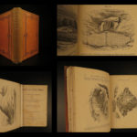 1870 Grave Mounds Archaeology Pagan Funeral Rites Tombs Celts Anglo-Saxons