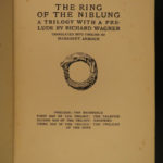 1911 1ed Richard Wagner Ring Nibelung Rackham Illustrated Mythology Fantasy ART