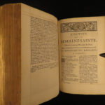 1732 FANFARE BINDING Holy Week Breviary Missal Catholic Church Illustrated ART