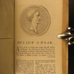 1769 PLUTARCH Parallel Lives Alexander the Great Caesars Romulus DRYDEN English