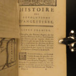 1762 History of English Revolutions Wars MAPS England Scotland French Orleans