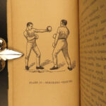 1880 Art of BOXING Combat Sports Illustrated Pugilism Self-Defense Ned Donnelly