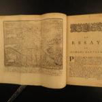 1756 Homer Iliad Greek Mythology English Alexander Pope Illustrated MAPS Troy