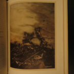 1917 1ed King Arthur Lancelot Knights Round Table Arthur Rackham Morte Darthur