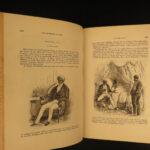 1845 1ed Eugene Sue Mysteries of Paris anti-Catholic English Novel Literature 3v