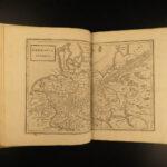1789 ATLAS Geography Antiqua et Nova MAPS Greece Italy Palestine Turkey Africa