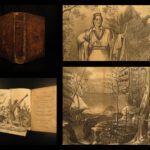 1841 1ed Wimer INDIAN History Costumes Native American TORTURE Mary Rowlandson