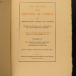 1898 Amours of Chevalier de Faublas French Louvet de Couvray Sexuality 4v SET