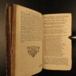 1690 VIRGIL Works Aeneid Georgics Eclogues Bucolic Latin Heinsius Elzevier RARE