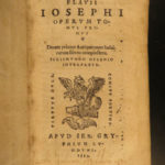 1555 1ed Josephus Antiquities of Jews Judaica Judaism Sig Gelenius Bible Hebrews