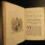1694 English LAW King Charles I England William Style Practical Register Crimes