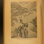 1897 1st ed Alaska & Klondike Gold Fields MAP Canada Mining Yukon Voyages RARE
