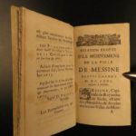 1675 1ed History of Messina Italy Sicily Messina Revolt Spain Louis XIV France
