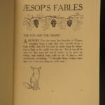 1912 1ed Aesop Fables Illustrated by Arthur Rackham Esoteric Occult Fairy Tales