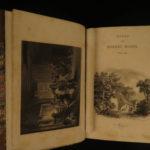 1852 Robert Burns Works Scottish Poetry Scotland English Illustrated Motherwell