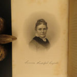 1881 Ladies of White House Illustrated First Lady Portraits President Lincoln