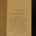 1896 Strange Case of Dr Jekyll & Mr Hyde Robert Louis Stevenson Mystery Horror