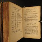 1652 Valerius Cordus HERBAL Medicine Pharmacopeia Botany Cures Herbs Alchemy