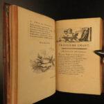 1760 1ed Art of Painting by Watelet Illustrated Poem da Vinci Michelangelo Durer