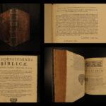 1695 Bible Translation Problems Frassen Disquisitiones Greek Hebrew Vulgate