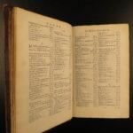 1677 Cicero Epistolae Familiar Letters ROME Paulus Manutius Commentary Elzevier