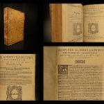1574 Medieval LAW Italian Passaggeri Summa Jurisprudence Bologna Medici Italy