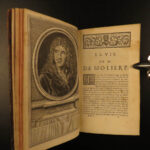 1730 Works of MOLIERE French Literature Misanthrope School for Wives 8v SET