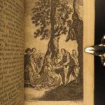 1770 Don Quixote Cervantes Chivalry English Smollett Translation Illustrated 4v