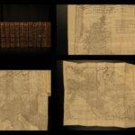 1749 History of ROME Livy Ab Urbe Condita Augustus MAPS French 12v SET Crevier