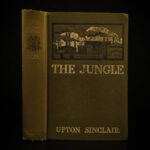 1906 1st ed The JUNGLE Upton Sinclair Chicago Meatpacking Socialism Immigrants