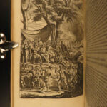 1680 1ed VIRGIL Aeneid Georgics Eclogues Bucolic Classical Latin Emenes Heinsius