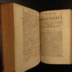 1752 Tacitus Annals Histories Roman Empire Nero ROME Gronovius Lipsius Leipzig