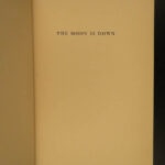 1942 1st/1st Moon is Down by John Steinbeck + DJ World War 2 Nazi Resistance