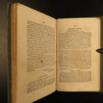1838 1ed Anti Slavery Record Slave Emancipation Thomas Jefferson RARE Indian LAW