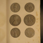 1834 HUGE Treasure of Numismatics Coin Collecting Medals Illustrated Glyptics