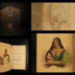 1847 1ed Notes on Iroquois Schoolcraft Indian Tribes Native American Illustrated