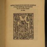 1848 Holy Lyfe of Saint Werburge Old English Poem Henry Bradshaw Chester England
