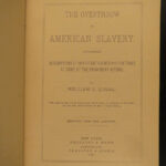 1885 1ed Overthrow of American Slavery Queal Lincoln Emancipation Proclamation