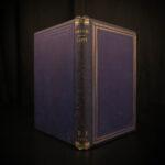 1868 Dante Alighieri Divine Comedy Paradise Paradiso Poem Johnston English
