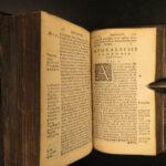 1574 New Testament BIBLE Biblia Sacra Latin Vulgate Louvain Antwerp Plantin RARE