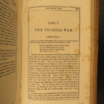 1846 Army & Navy of America French & Indian WAR Seminole INDIANS Jacob Neff