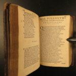 1585 PLANTIN Marco Vida Italian Poetry Arte Poetica Scacchia Ludus Latin Poems