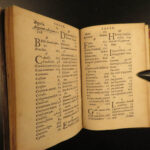 1561 Fenestella Roman Occult Ritual LAW Pagan Cult Fiocchi RARE Magistratibus