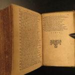 1637 1ed RARE Scottish Poetry Jon Scotstarvit Florentius Volusenus SCOTLAND Delitiae