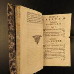1696 Thomas Hobbes De Cive Political Philosophy On the Citizen Crime Law Boom ed