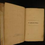 1822 1st eds SCOTTISH Sir Walter Scott Saint Ronan's Well Peveril of Peak 7v SET