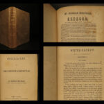 1850 1ed White Jacket by Herman Melville US NAVY Ship Life Moby Dick Author