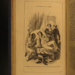 1852 EARLY UK ed Uncle Tom's Cabin Illustrated Beecher Stowe Slavery Abolition