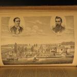 1878 1ed Onondaga County New York Revolutionary WAR Indians Syracuse Illustrated